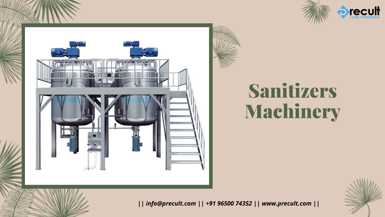 Sanitizers Machinery