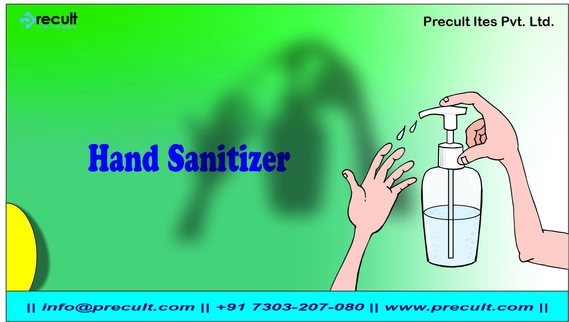 How Hand Sanitizer work?